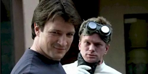 Nathan Fillion dr horrible Spotted : Nathan Fillion