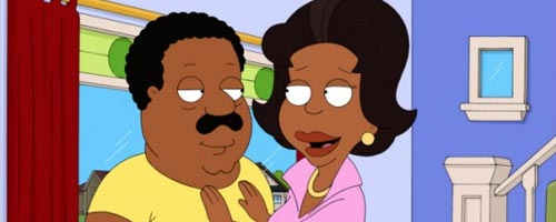 The Simpsons – The Greatest Story Ever D'ohed (21.16) / Family Guy – Brian Griffin's House of Payne (8.15) / The Cleveland Show – Brown Knight (1.16)
