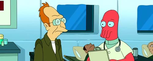 Futurama – The Tip Of The Zoidberg (6.23)
