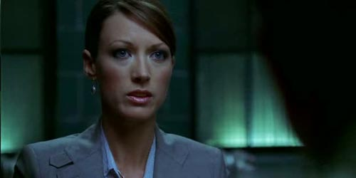 without a trace Spotted : Natalie Zea
