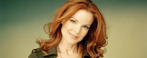 Portrait Actrice : Marcia Cross