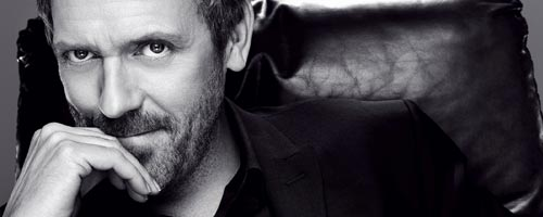 hugh laurie Portrait : Hugh Laurie
