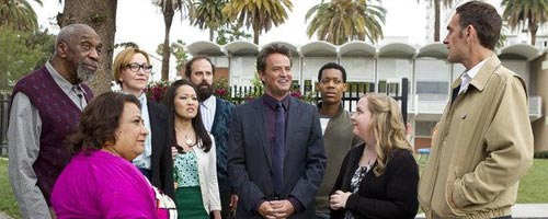 Matthew Perry tries to Go On
