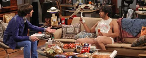 The Big Bang Theory - The Monster Isolation (6.17)