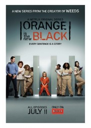 Après un trailer, voici une affiche pour la série Orange Is the New Black