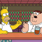The Simpsons rencontre Family Guy
