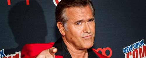 Bruce Campbell Portrait Acteur : Bruce Campbell (Burn Notice)