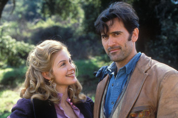 Avec The Adventures of Brisco County Jr., Bruce Campbell évoluait entre western, SF et Steampunk