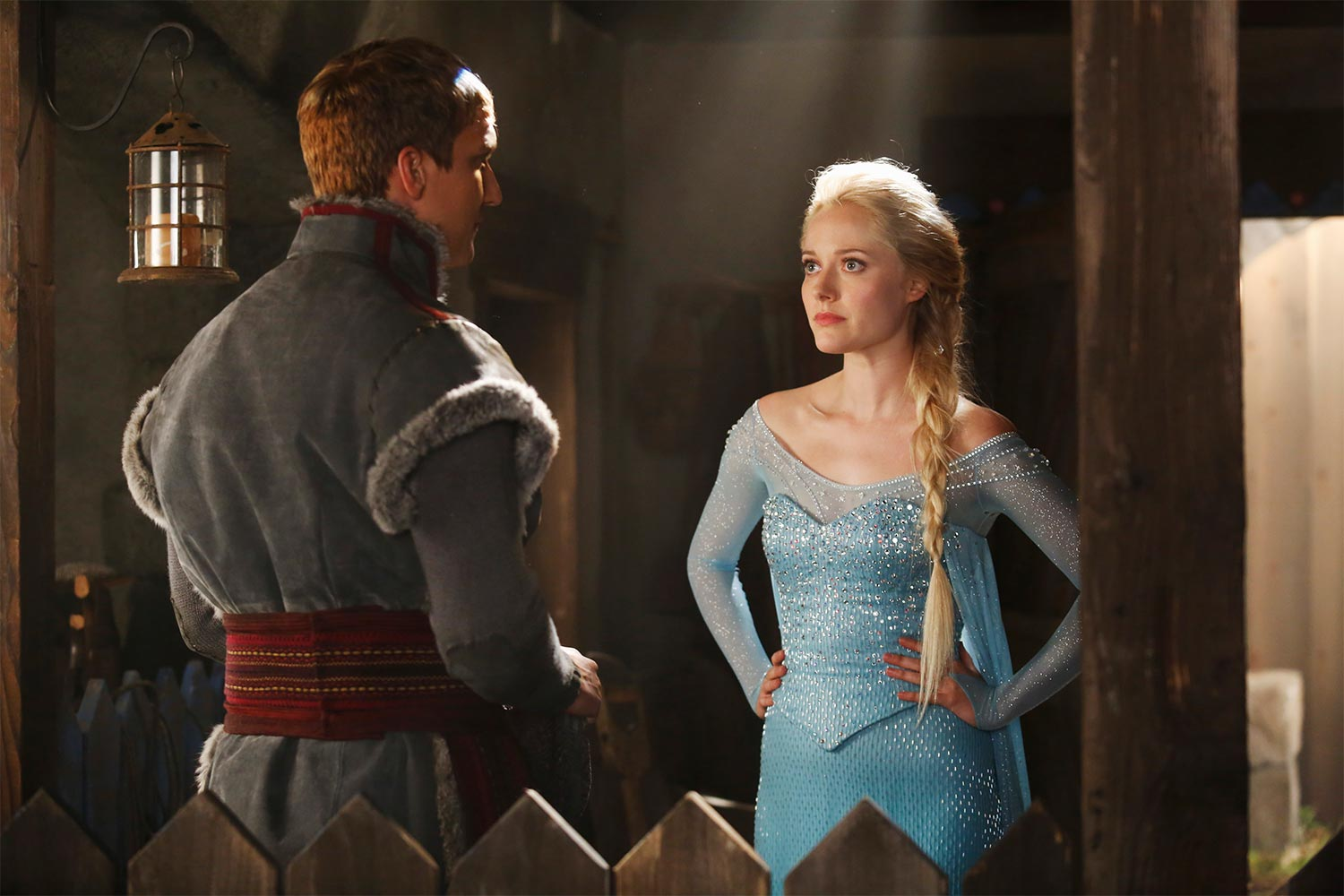 Elsa dans Once Upon a Time saison 4