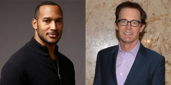 Kyle MacLachlan et Henry Simmons