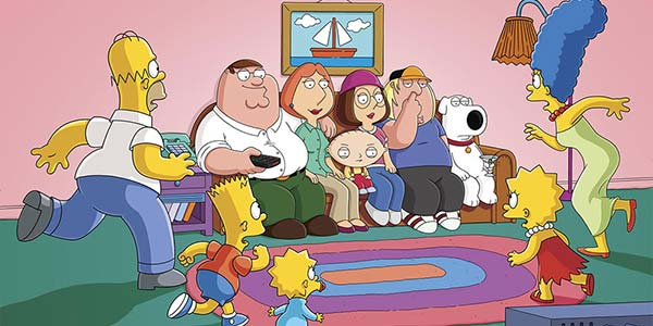 The Simpsons - Family Guy