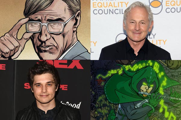Victor Garber et Andy Mientus - The Flash saison 1