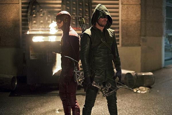 The Flash vs Arrow - The Flash - Flash Vs Arrow (1.08)