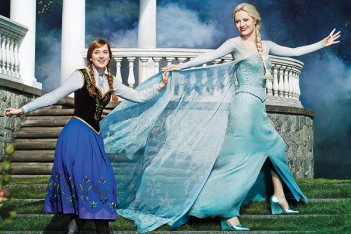 OUAT Frozen sisters TV Guide 351x234 - La Reine des neiges : des origines du conte à Once Upon a Time