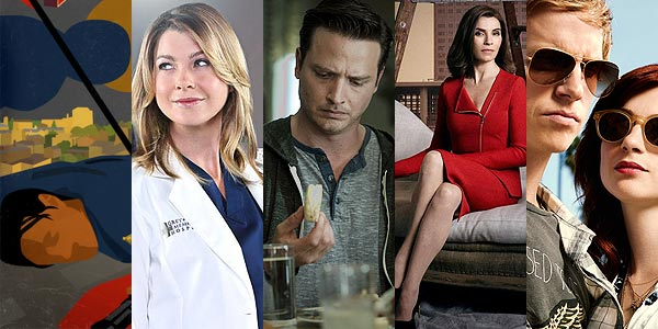 22 à 26 | Banshee, Grey's Anatomy, Rectify, The Good Wife et You're the worst