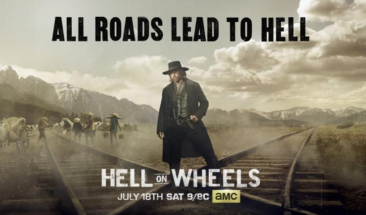 Hell on Wheels saison 5, partie 1