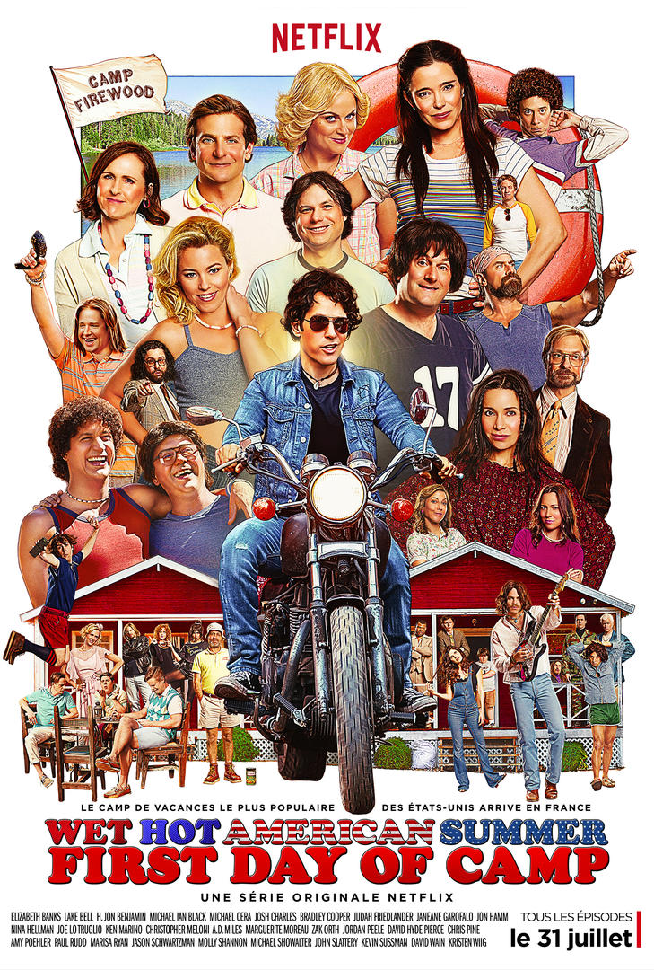 Wet Hot American Summer: First Day of Camp (poster)