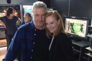 CSI : Marg Helgenberger, William Petersen et plus sur le tournage du final des Experts