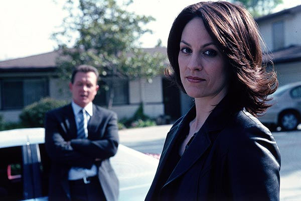 The X-Files Doggett et Reyes