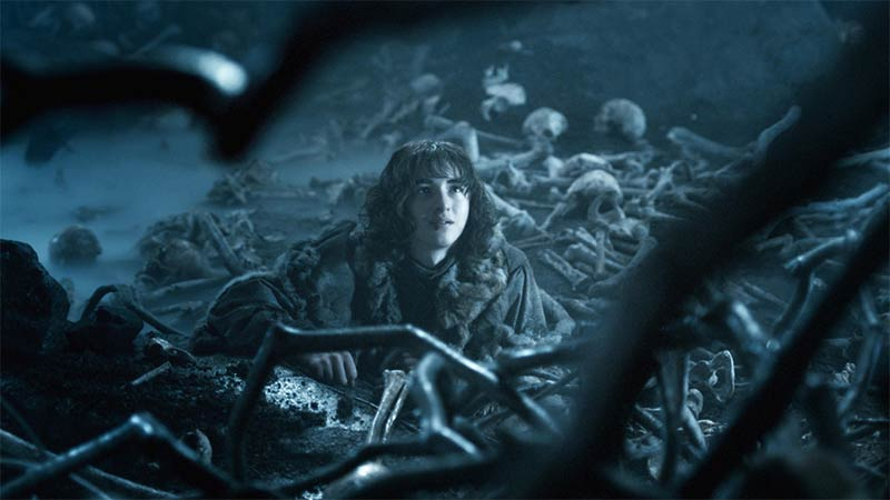 Bran à la fin de Game of Thrones saison 4
