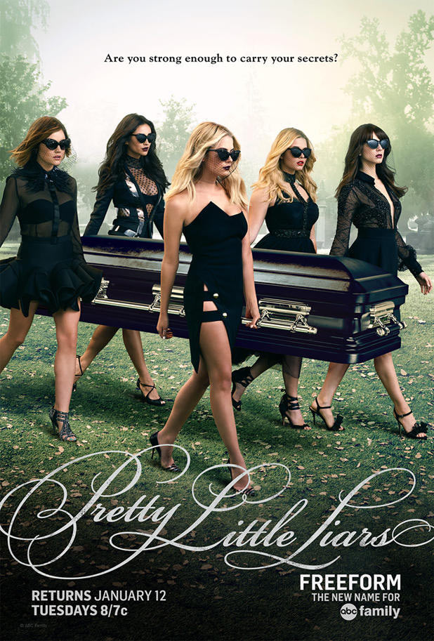 Pretty Little Liars - Saison 6 (Poster)