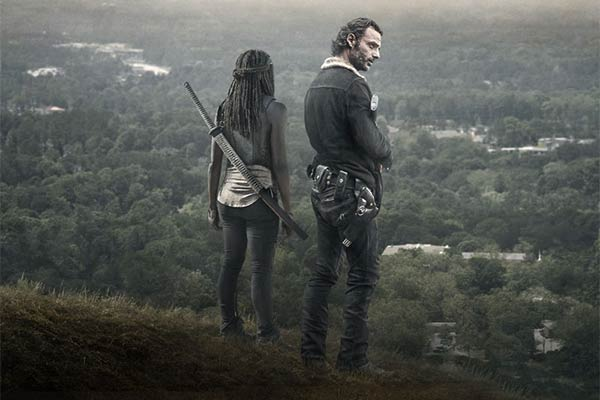 the walking dead saison 6B michonne rick - The Walking Dead Saison 6B : Les teasers font monter la tension