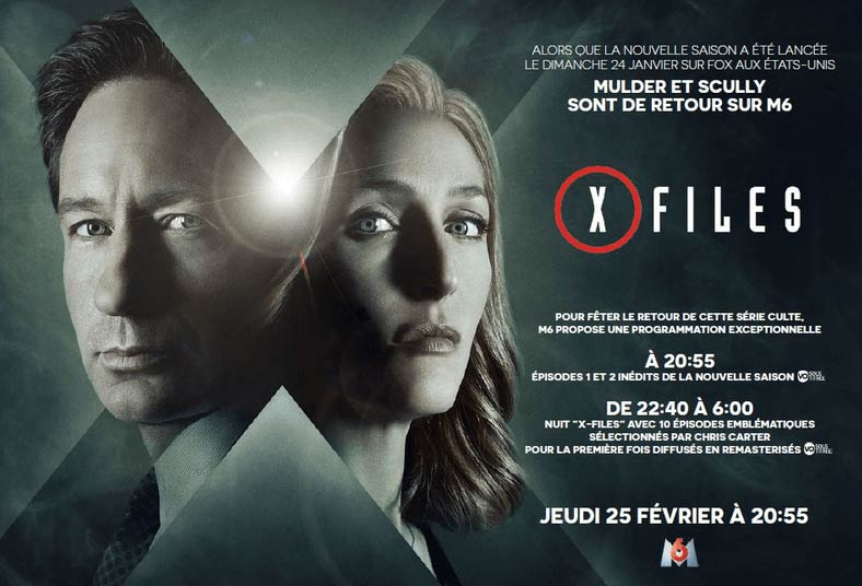 The X-Files sur M6 en février