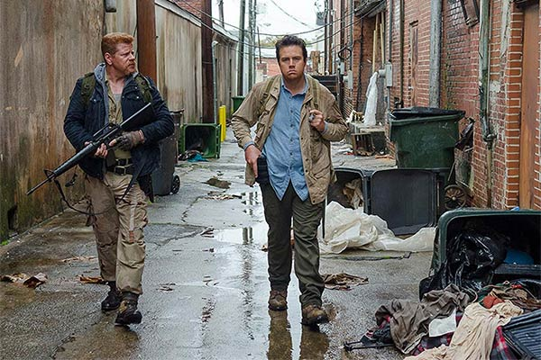 The Walking Dead Saison 6 Episode 14 : Twice as Far
