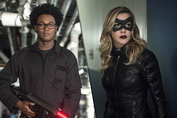 echo kellum katie cassidy arrow - Katie Cassidy de passage dans The Flash, Echo Kellum promu régulier dans Arrow