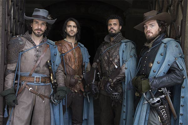 the musketeers saison 2 - Pas de saison 4 pour The Musketeers, BBC One confirme l'annulation de la série
