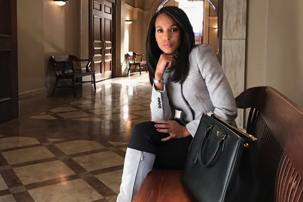 Kerry Washington HTGAWM - Scandal Saison 7 : Un crossover avec How to Get Away With Murder avant la fin