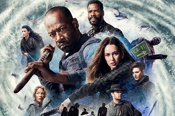 Fear The Walking Dead Saison 4 Partie 2 Poster - Quelles séries débutent cette semaine ? Fear The Walking Dead, Ballers, Better Call Saul, Insatiable et plus