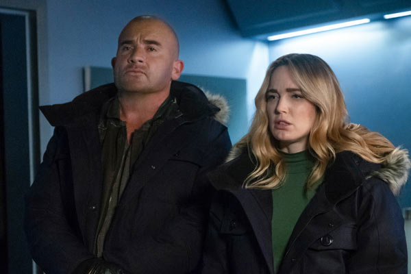 Legends of Tomorrow Saison 4 Episode 14 - Legends of Tomorrow : Coincés sous la neige (4.14)