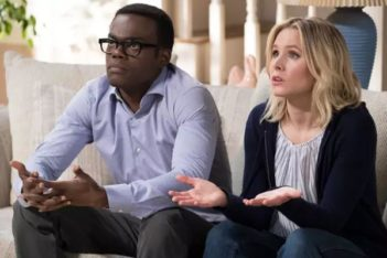 Eleanor et Chidi de The Good Place : Vers l'infini et l'au-delà