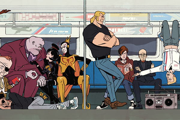 The Venture Bros Saison 7 Subway - Pas de saison 8 pour The Venture Bros, Adult Swim met finalement un terme aux aventures de la Team Venture